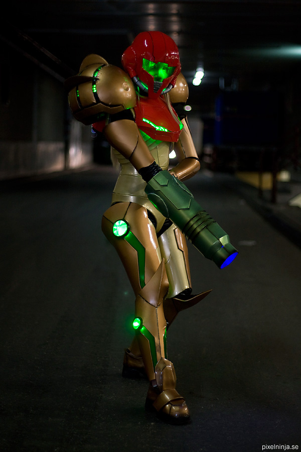 Metroid Varia Suit 3 by pixel-ninja