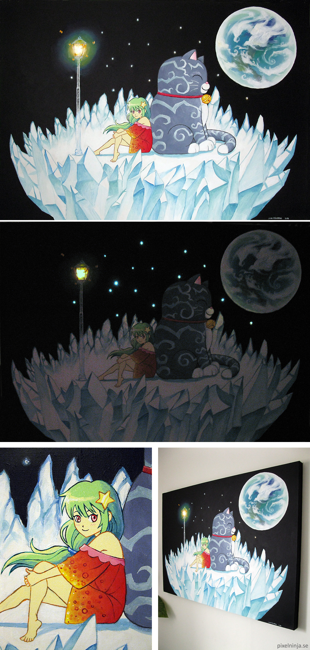 Star sky by pixel-ninja
