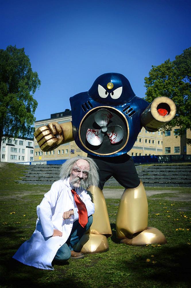 Megaman cosplay by pixel-ninja