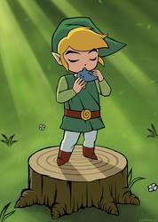 Zelda fanart by pixel-ninja