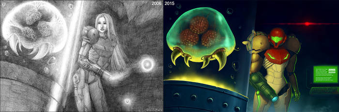 Draw it again - Metroid