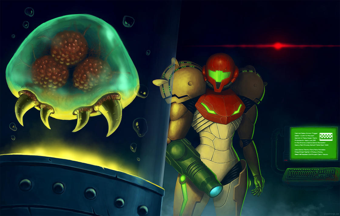 Metroid lab by pixel-ninja