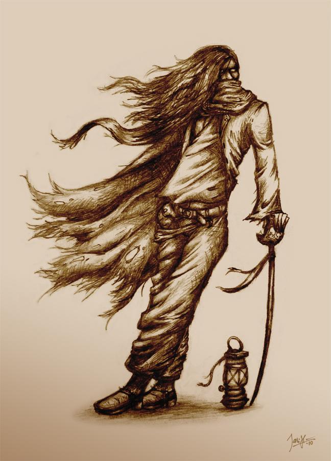Swashbuckler Sketch by SirJarva