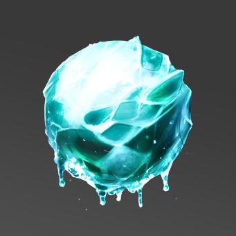 Texture Study - Glacier Ice by SirJarva