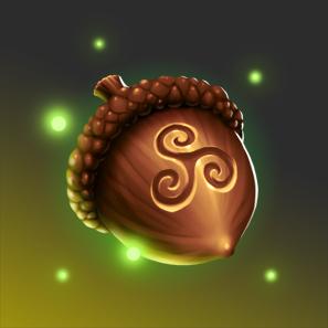 Enchanted Acorn by SirJarva