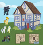 Thunderclap and Family's house by Quailmixalot