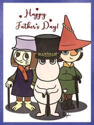 Happy Fathers Day 2019 by margieluz