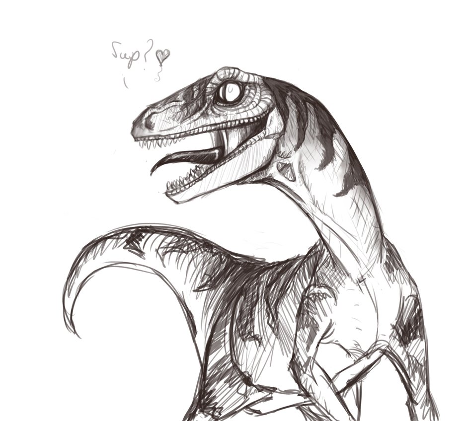 Dino Love by Dolphinsea