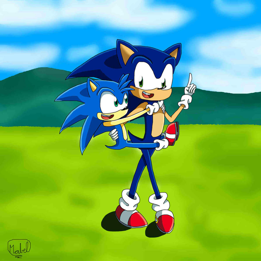 Flash and Sonic by SweetSilvy on DeviantArt