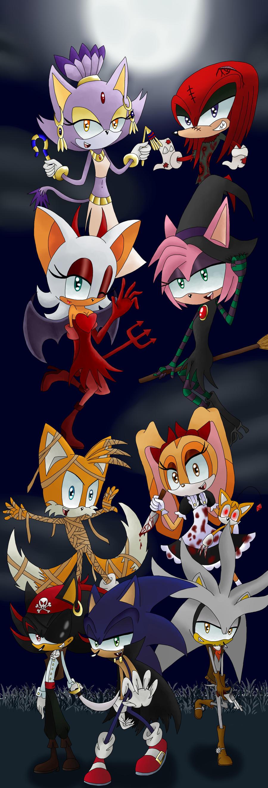 Sonic The Hedgehog Happy Halloween Happy Halloween Sonic by