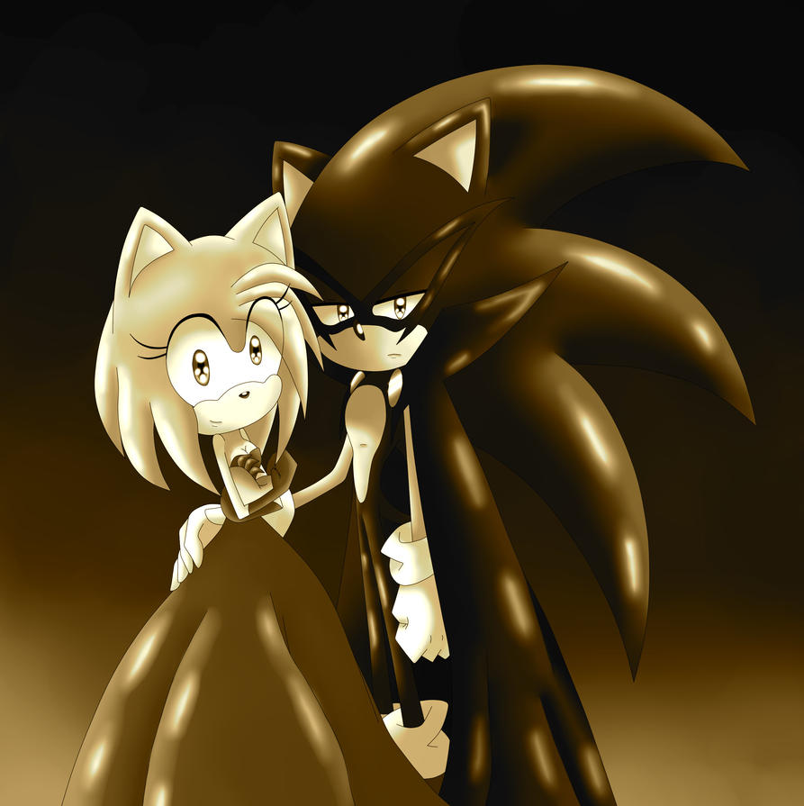 Photo Christine and Erik with their newborn Sepia by SILVERtheHEDGEHOGyes