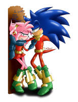Just one little kiss Zonzamy by SweetSilvy