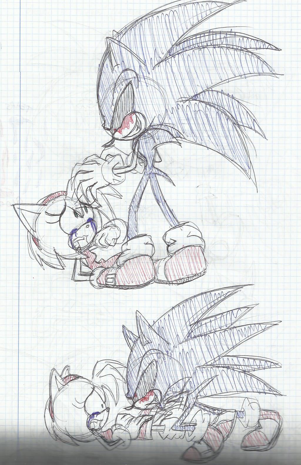 Sonic exe X Amy 2 by SweetSilvy
