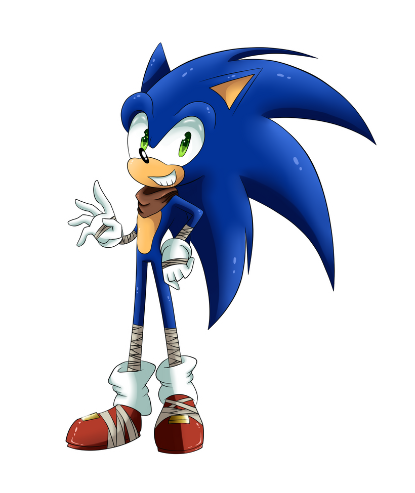 Sonic Boom by SILVERtheHEDGEHOGyes
