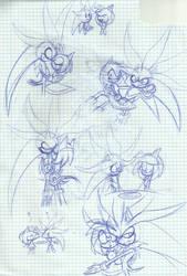 Silvamy Doodles by SweetSilvy