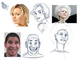 Stylized Doodles by Spodness