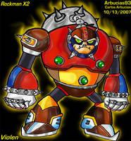 Violen - Mega Man X2 by Shinobi-Gambu