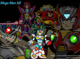 Mega Man X2 Wallpaper by Shinobi-Gambu
