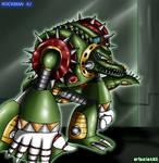 MMX2 - Wheel Gator by Shinobi-Gambu