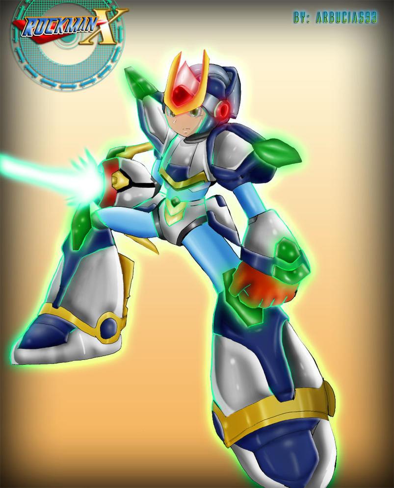 Rockman X - Blade Armor by Shinobi-Gambu