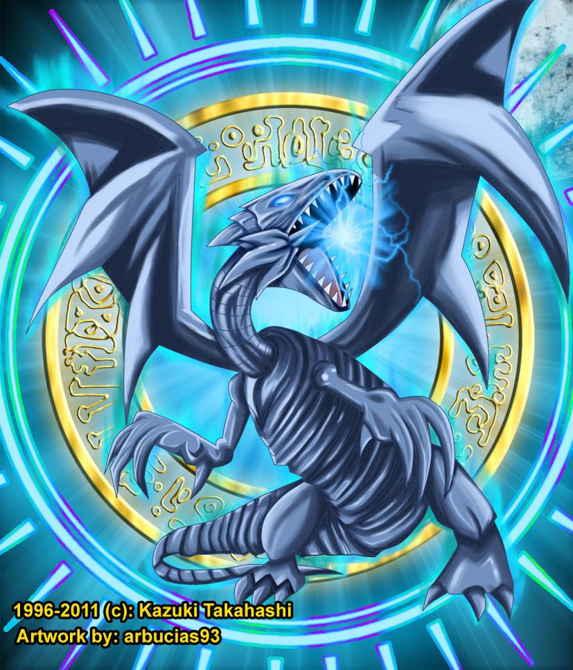 YGO: Blue-Eyes White Dragon by Shinobi-Gambu