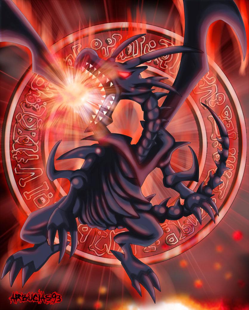 Ygo Red Eyes Black Dragon By Shinobi Gambu On Deviantart