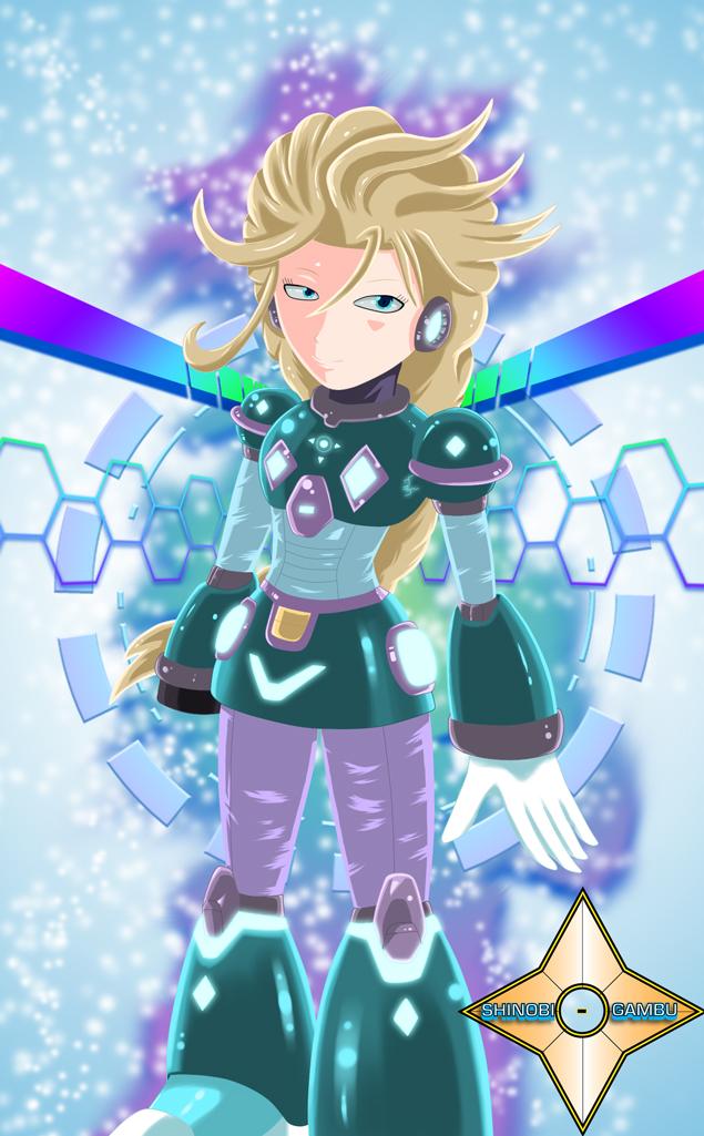 Reploid Elsa by Shinobi-Gambu