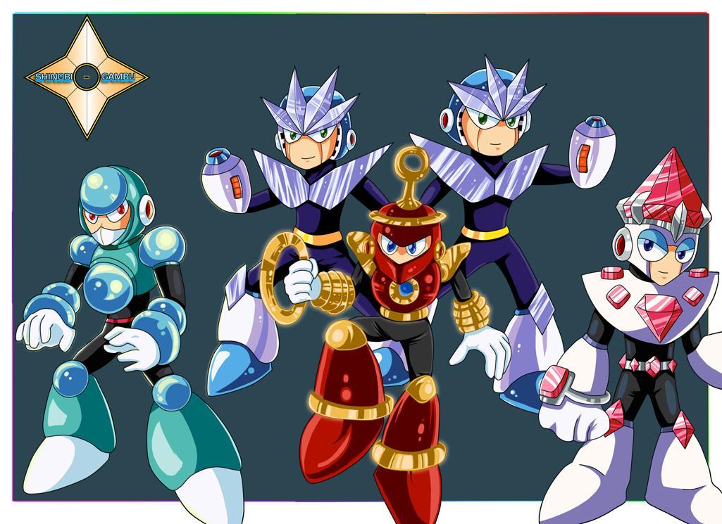 The Robot Masters of Luxury by Shinobi-Gambu