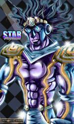 JJBA: Star Platinum by Shinobi-Gambu