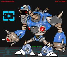 Radar Killer Guard-Mega Man X2 by Shinobi-Gambu