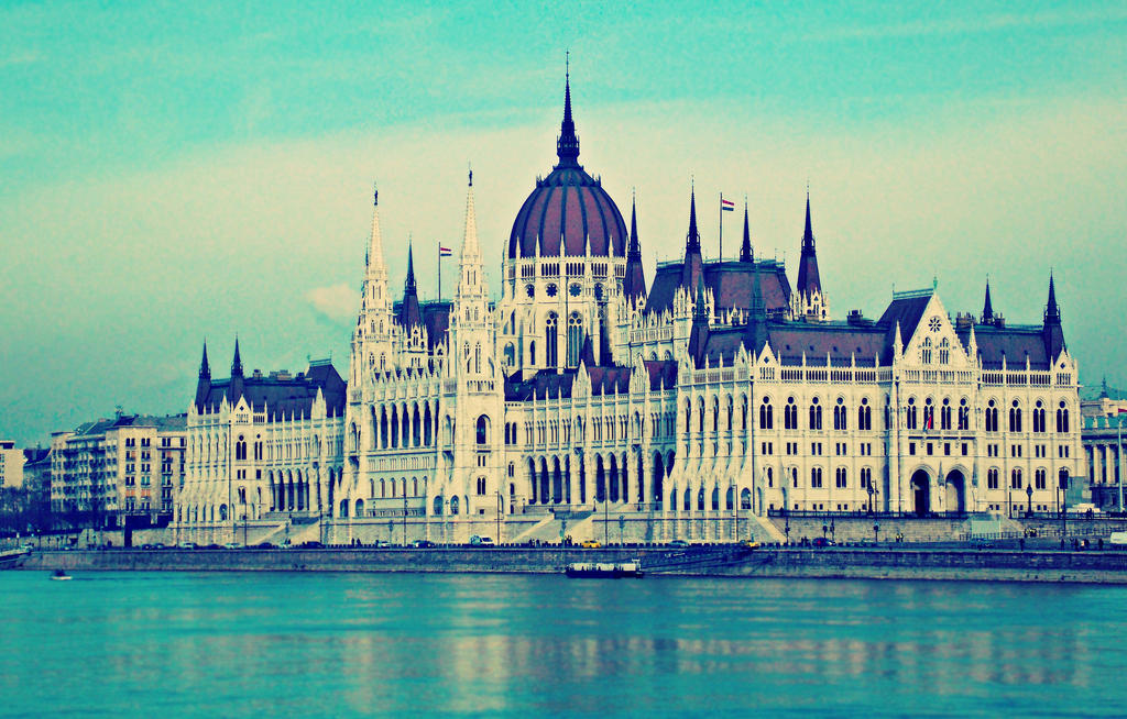 Hungarian Parliament by AmyKPhotos