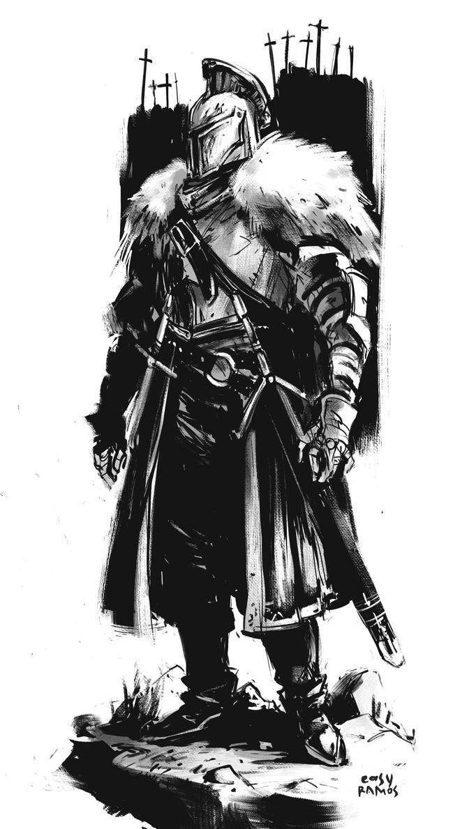 Darks Souls  Build  Ef Bf Bdp Ef Bf Bde Chevalier Noir