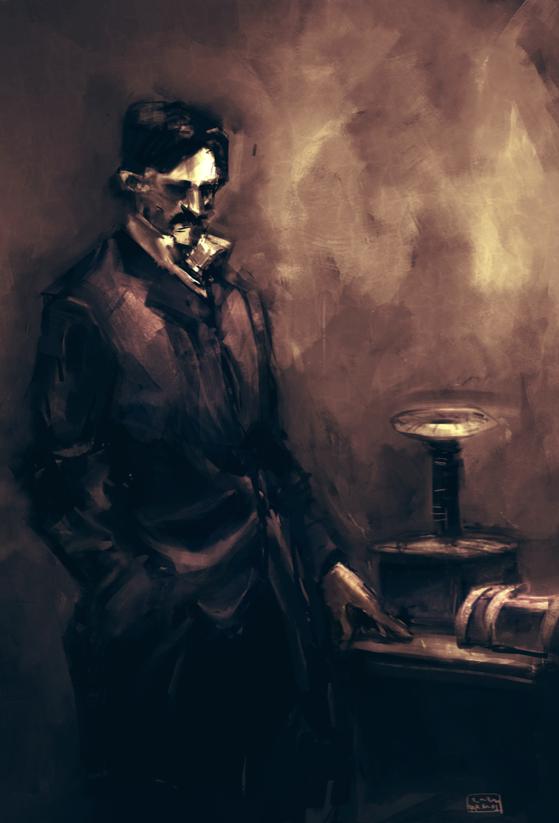 Nikola Tesla by easy-ramos