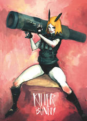 KILLER BUNNY by easy-ramos