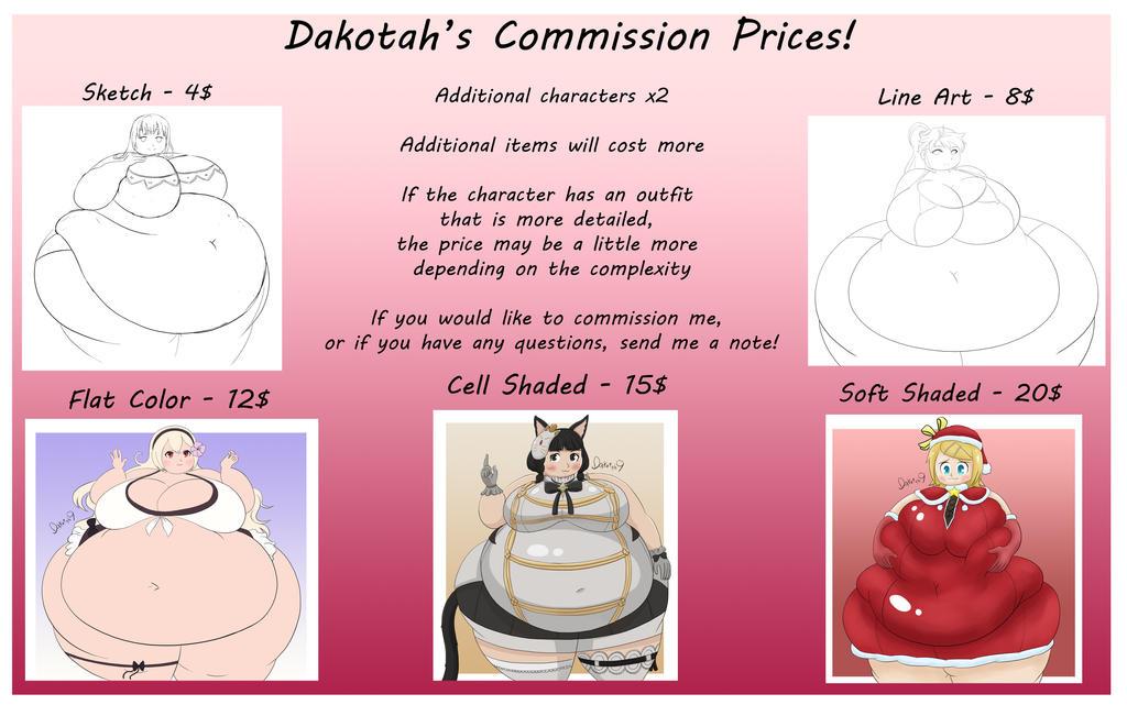 Dakotah Commission prices