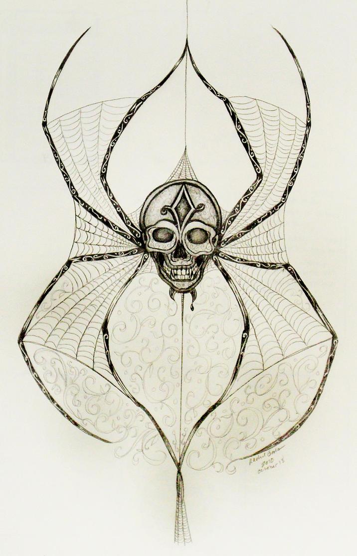 Spider tattoo idea by kamiiyu on DeviantArt
