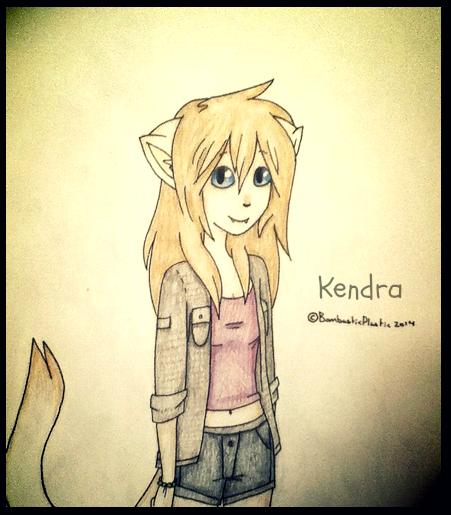 New OC: Kendra by BombasticPlastic