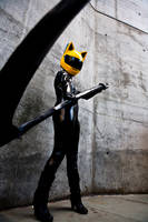 Celty On Guard by BertLePhoto