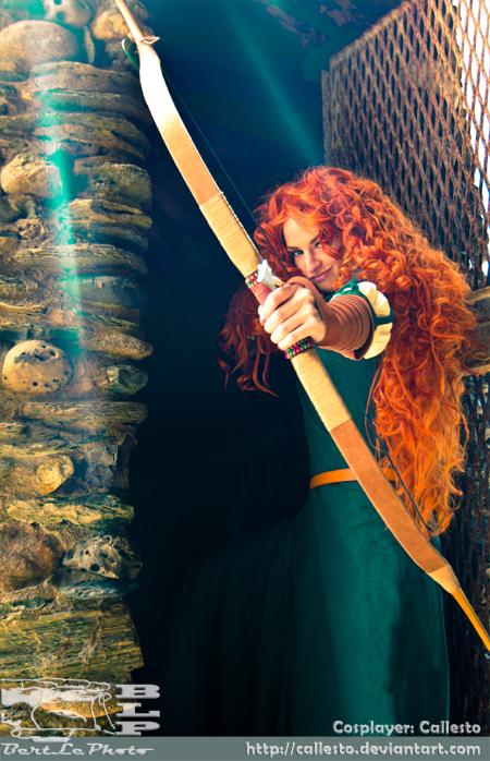 Brave: Arrows Blazing by BertLePhoto