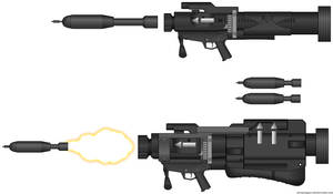 AT115 SMAW Launcher variants by CODCrysisWarfare