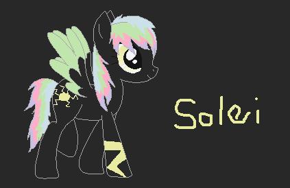 Solei Pony OC by Onelai