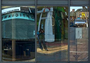 Reflections 3 selfportrait