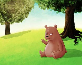 Cute little bear by ackm