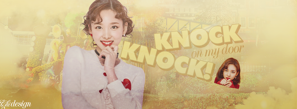 knock on my door - im nayeon by karinecucheoo