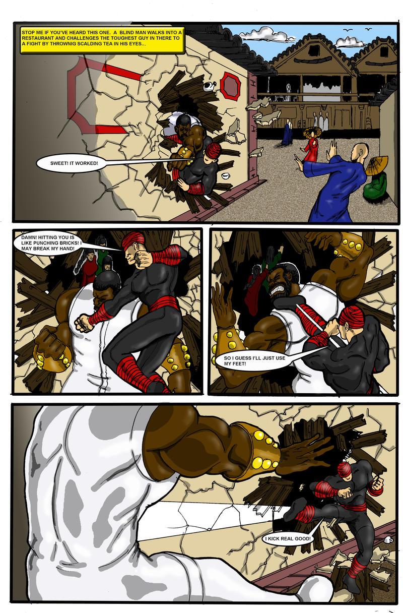 SDL vs Ritualist pg1 by hulkdaddyg