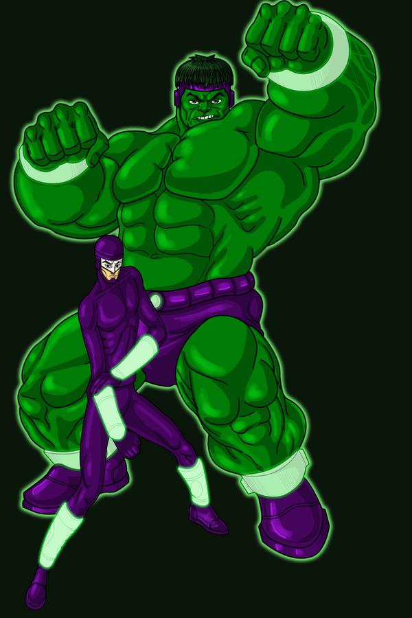 Hulk Redesign Hulk banner redesign color by