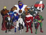 Mighty Avengers by hulkdaddyg