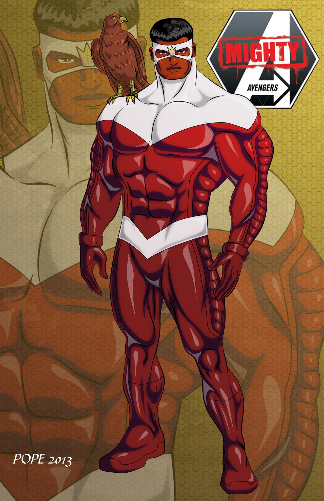 Avengers falcon by hulkdaddyg on deviantart - Faucon avengers ...