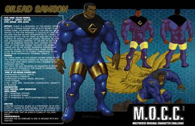 Gilead Samson MOCC Bio by hulkdaddyg