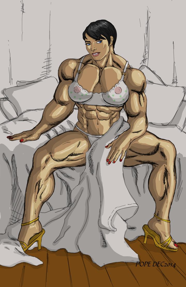 Olga lingerie by hulkdaddyg